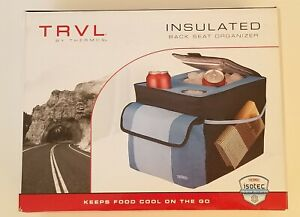 TRVL By Thermos Insulated Back Seat Organizer - Blue. NIB. See pictures!