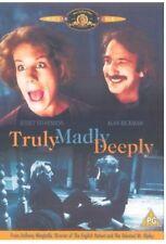 TRULY MADLY DEEPLY DVD OOP RARE ALAN RICKMAN COMEDY FANTASY