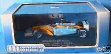 RENAULT F1 TEAM R202 #14 JARNO TRULLI ENGINE RS 22 1/43 FORMULE 1 UNIVERSAL HOBB