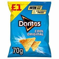 Doritos Cool Original Tortilla Crisp £1 PMP Full Case 15 x 70g