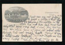 Scotland Perthshire CRIEFF Strathearn House Hydro c1902 advert u/b PPC used 1932