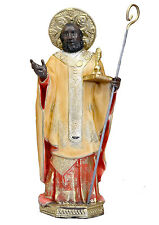 Saint Nicholas of Bari resin statue cm. 30
