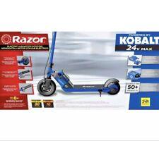 Kobalt 24V Max âš¡ Razor E100 Electric Motor Scooter Best for Kids Battery+Charger