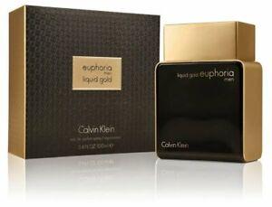 Euphoria Liquid Gold for Men by Calvin Klein | 100ml EDP Spray | Fast Shipping