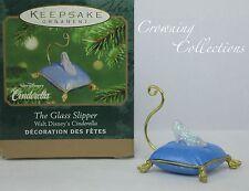 2001 Hallmark The Glass Slipper Cinderella Disney Keepsake Ornament Miniature