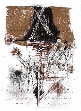 JOHNNY FRIEDLAENDER -LES OISEAUX- ORIGINAL LITHOGRAPH -VELIN - MOURLOT-1973