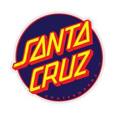"3"" Santa Cruz Classic Other Dot Navy Red Skateboard Surf Sticker Decal New"