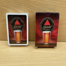 More details for vintage william bass & co brewery beer ale advertising playing cards - sealed