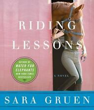 Riding Lessons by Sara Gruen  CD NEW