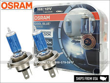 NEW! OSRAM Cool Blue Intense (CBI) H4 Halogen Headlight Bulbs 20%+, 4200K Color