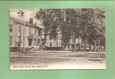 NEW BERLIN, NY Vintage 1908 Postcard--NORTH MAIN STREET, Nice View!