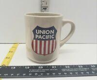 Promotional Union Pacific Coffee Mug Train Tan Rare