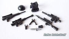 Brickarms Sniper waffenset, Custom armas para lego ® personajes