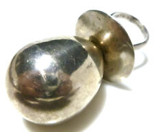 Pop Teether Rattle Ring Pendant Other Heavy Sterling Silver Baby Bottle Blow