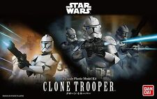 BANDAI STAR WARS MODEL KIT clone trooper MAQUETTE 1/12 A MONTER
