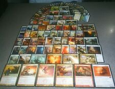 MTG Magic EDH AURELIA DECK Boros Angel Firemane Avenger  Brightflame Human LOT
