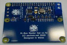 More details for m-bus master hat for raspberry pi - mbus meter-bus reader