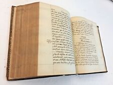1772 Moral Religion Liturgy Communion Manuscript Handwritten Calligraphy 830 pp