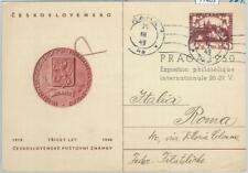 77403 - Czechoslovakia - POSTAL HISTORY - Commemorative Stationery Card  1949