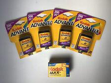 Lot (4) - Kodak Advantix Film 200 25exp / Max Versatility 400 24exp Expired
