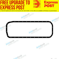 1986-1988 For Holden Commodore VL RB30 RB30T Nissan Engine Oil Pan Sump Gasket J