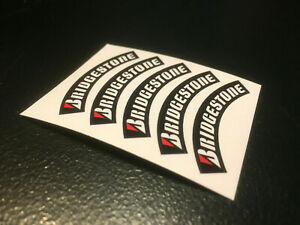 1:10 Reifenbeschriftung Mark Bridgestone Sticker Traxxas Arrma Tamiya