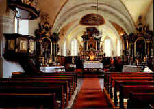 Kirchen Gebäude Motiv-AK Innenansicht Pfarrkirche Kirche St. Jakob in Haus Tirol