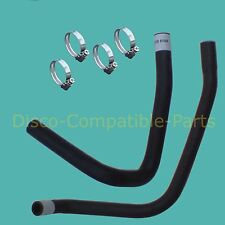 Land Rover Defender 300 TDi Heater Hose Set RHD + Stainless Steel Clamps