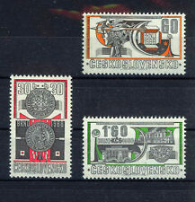 CHECOSLOVAQUIA CZECHOSLOVAKIA 1966 SC.1418/1420 MNH Brno Philatelic Exhibition