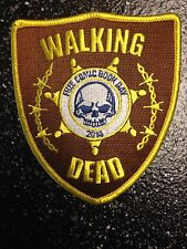 WALKING DEAD FREE COMIC BOOK DAY FCBD PATCH 2014