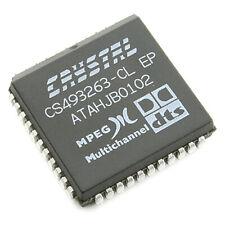 [4pcs] CS493263-CL Multi-standard audio decoder PLCC44 CRYSTAL