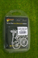 NAPOLEONIC BRITISH ROYAL HORSE ARTILLERY 9-PDR CANNON Black Powder 28mm