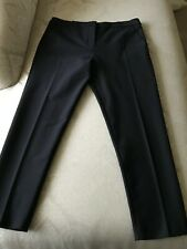 "PERRI CUTTEN ""ROMA"" PANT, NAVY, CROPPED LENGTH, SIZE 12, WITH TAGS"