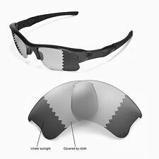 Sure Polarized Photochromic Grey Replacement Lenses for Oakley Flak Jacket XLJ