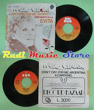 LP 45 7'' PETULA CLARK Don't cry for me argentina A carousel EVITA no cd mc dvd