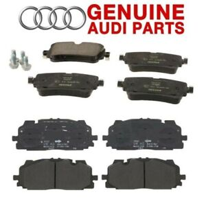 Genuine Front and Rear Disc Brake Pad Set For Audi Q7 2017-2019 Q8 2019