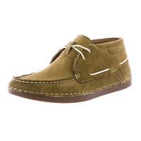 MUK LUKS Men's Khaki Chuck Chukka Mocassin Shoes 16387 $104 NEW