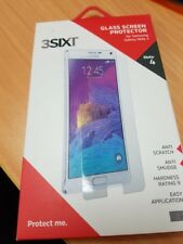 3SIXT Brand Samsung Galaxy Note 4 Tempered Glass Screen Protector