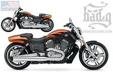Harley V ROD Throw Under Seat Bags Saddlebags V-Rod VROD - VTU01 BAD&G CustomS