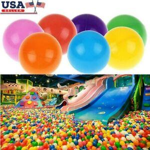 1000pcs Colorful Ball Soft Plastic Ocean Ball Funny Baby Kids Swim Pit Pool Toys