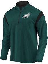 Fanatics Men's Philadelphia Eagles Defender Mission 1/4 Zip Jacket XXL 2XL Green