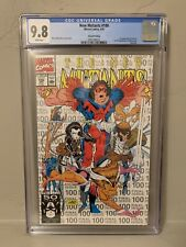 Marvel New Mutants #100 2nd Print Variant CGC 9.8 NM/MINT 1st X-Force