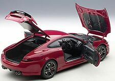 Autoart JAGUAR XKR-S ITALIAN RACING RED Color in 1/18 Scale. New! In Stock!