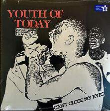 YOUTH OF TODAY - CAN'T CLOSE MY EYES LP BLUE VINYL GORILLA BISCUITS