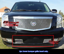 Fits Cadillac Escalade Bumper Stainless Mesh Grille 2007-2014