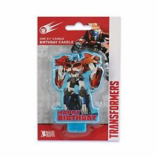 Transformers Birthday Candle - Optimus Prime Cake topper