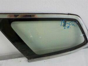 2011 2012 2013 2014 Acura Tsx Rear Driver Left Quarter Window Glass Oem