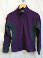 Berghaus Womens Purple Fleece Jacket Size 10