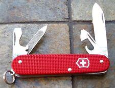Victorinox CADET RED Alox Original Swiss Army Knife 53043 NEW! Authentic
