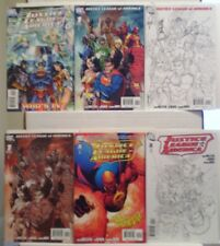 Brad Meltzer JUSTICE LEAGUE of AMERICA #0 - 12 1:10 Variant Covers (DC, 2006)!